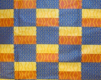 Premium Ankara Print KENTE Fabric - 3 or 6 yards (HF180)