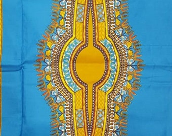 Premium Ankara Print DASHIKI Fabric - 3 or 6 yards (H2194)