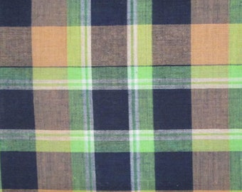 Plain George (Madras Plaid) - 4 or 8 yards (HF37)