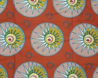 Premium Ankara Print FASHION Fabric - 3 yards @ 6.66/yd or 6 yards @ 4.99/yd (HF99)