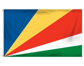 Printed Polyester Flag - Seychelles