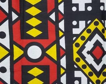 Premium Ankara Print TREND Fabric - 1 yard (HF31)