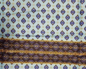 Premium Ankara Print FASHION Fabric - 3 yards @ 9.99/yd or 6 yards @ 6.66/yd (HF1698)