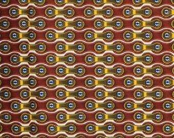 Premium Ankara Print HOLLAND Fabric - 3 @ 19.99/yd or 6 yards @ 11.66/yd (HF443)