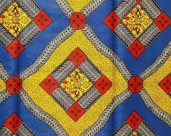 Premium Ankara Print TREND Fabric - 1 yard (HF34)