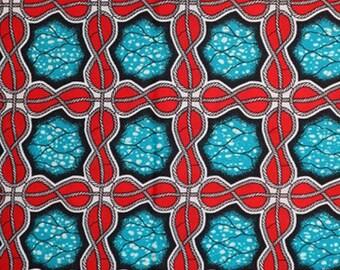 Premium Ankara Print HOLLAND Fabric - 3 @ 16.66/yd or 6 yards @ 9.99/yd (HF455)
