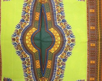 Premium Ankara Print DASHIKI Fabric - 3 or 6 yards (HF2165)