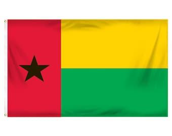 Printed Polyester Flag - Guinea-Bissau