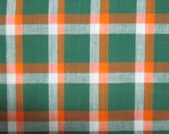 Plain George (Madras Plaid) - 4 or 8 yards (HF46)