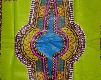 Premium Ankara Print DASHIKI Fabric - 1 yard (HF22)