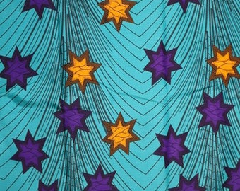 Premium Ankara Print FASHION Fabric - 3 yards @ 6.66/yd or 6 yards @ 4.99/yd (HF2223)