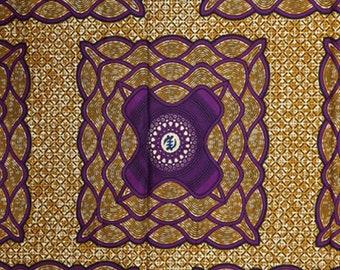 Premium Ankara Print HOLLAND Fabric - 3 @ 16.66/yd or 6 yards @ 9.99/yd (HF447)