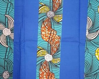 Premium Ankara Print FASHION Fabric - 3 yards @ 6.66/yd or 6 yards @ 4.99/yd (HF2202)