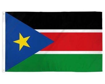 Printed Polyester Flag - South Sudan