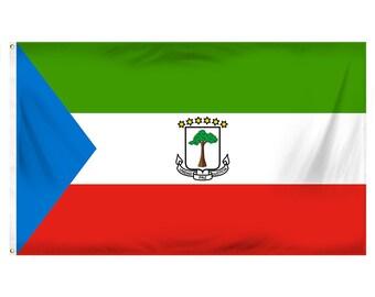 Printed Polyester Flag - Equatorial Guinea
