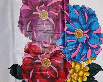 Premium Ankara Print HOLLAND Fabric - *Double sided* - 3 yards @ 16.66/yd or 6 yards @ 9.99/yd (HFP202)