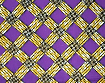 Premium Ankara Print HOLLAND Fabric - 3 or 6 yards (HF179)