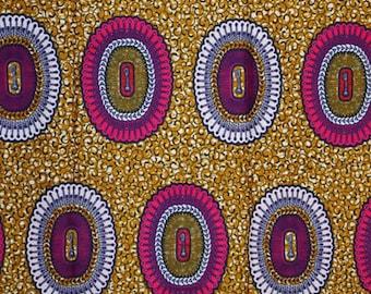 Premium Ankara Print HOLLAND Fabric - 3 @ 16.66/yd or 6 yards @ 9.99/yd (HFJ439)