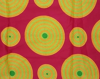 Premium Ankara Print FASHION Fabric - Single Yard or Fat Quarters  (HF37)