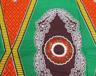 Premium Ankara Print DASHIKI Fabric - 3 or 6 yards (HF917)