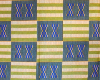 Premium Ankara Print KENTE Fabric - 3 or 6 yards (HF179)