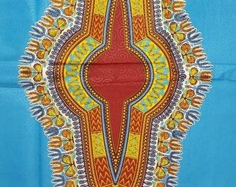 Premium Ankara Print DASHIKI Fabric - 3 or 6 yards (HF2195)