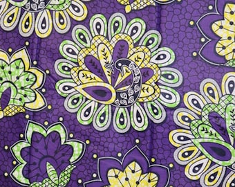 Premium Ankara Print TREND Fabric - 3 yards @ 9.99/yd or 6 yards @ 6.66/yd (HF134)
