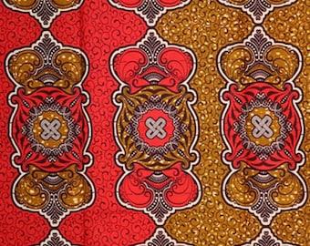 Premium Ankara Print HOLLAND Fabric - 3 @ 19.99/yd or 6 yards @ 11.66/yd (HF445, HF446)