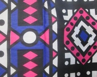 """Ankara Fashion Fabric """"Pink Samakaka"""" (HFF1713)"""