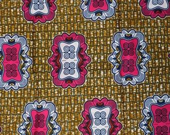Premium Ankara Print HOLLAND Fabric - 3 @ 16.66/yd or 6 yards @ 9.99/yd (HF456)