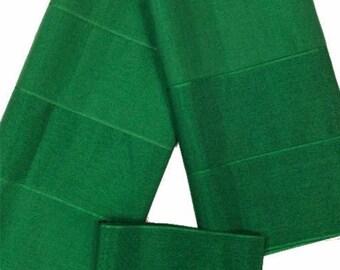 Aso-oke (Green) - 3 Piece Gele Set