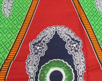 Premium Ankara Print DASHIKI Fabric - 3 or 6 yards (HF916)