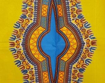 Premium Ankara Print DASHIKI Fabric - By the Yard (HF2196)