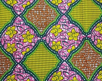 Premium Ankara Print HOLLAND Fabric - *Double sided* - By the Yard (HFP187)