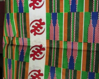 Premium Ankara Print FASHION Fabric - 3 yards @ 9.99/yd or 6 yards @ 6.66/yd (HF140)