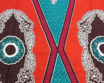 Premium Ankara Print DASHIKI Fabric - 3 or 6 yards (HF920)