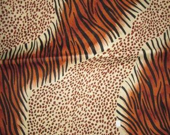 Premium Ankara Print ANIMAL PRINT Fabric - By the Yard (HF031)