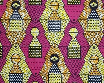 Premium Ankara PrintHOLLAND Fabric- 1 yard (HF24)