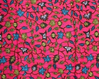 Premium Ankara Print HOLLAND Fabric - *Double sided* - By the Yard (HFP195)