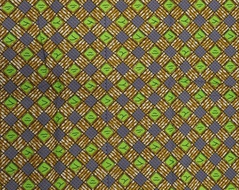 Premium Ankara Print TREND Fabric - 3 yards @ 9.99/yd or 6 yards @ 6.66/yd (HF170)