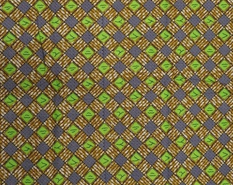 Premium Ankara Print FASHION Fabric - 3 yards @ 9.99/yd or 6 yards @ 6.66/yd (HF170)