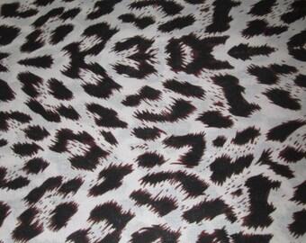 Premium Ankara Print ANIMAL PRINT Fabric - By the Yard (HF028)