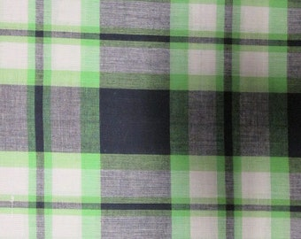 Plain George (Madras Plaid) - 4 or 8 yards (HF48)