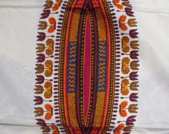 Premium Ankara Print DASHIKI Fabric - 3 or 6 yards (HF963)