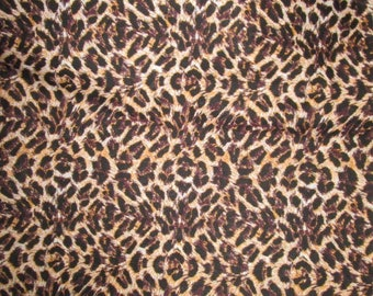 Premium Ankara Print ANIMAL PRINT Fabric - By the Yard (HF1253)