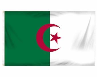 Printed Polyester Flag - Algeria