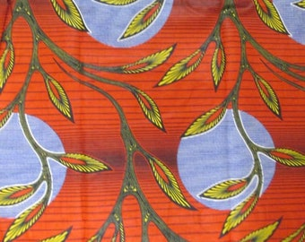 Premium Ankara Print FASHION Fabric - 3 yards @ 8.66/yd or 6 yards @ 5.99/yd (HF1673)