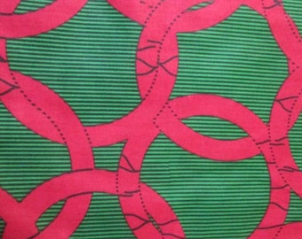 Premium Ankara Print FASHION Fabric - 3 yards @ 8.66/yd or 6 yards @ 5.99/yd (HF1623)
