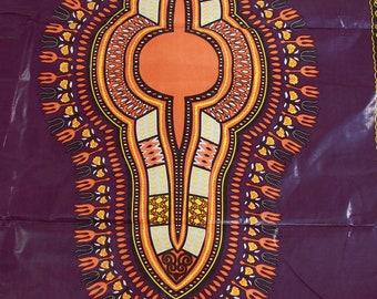 Premium Ankara Print DASHIKI Fabric - 12 yards only (HF027)