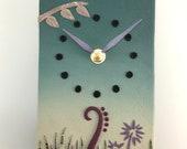 Wall Clock - Garden Secrets